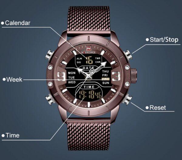 reloj naviforce 2020
